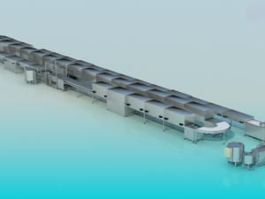 Автоматические линии для производства зефира на пектине или агар-агаре